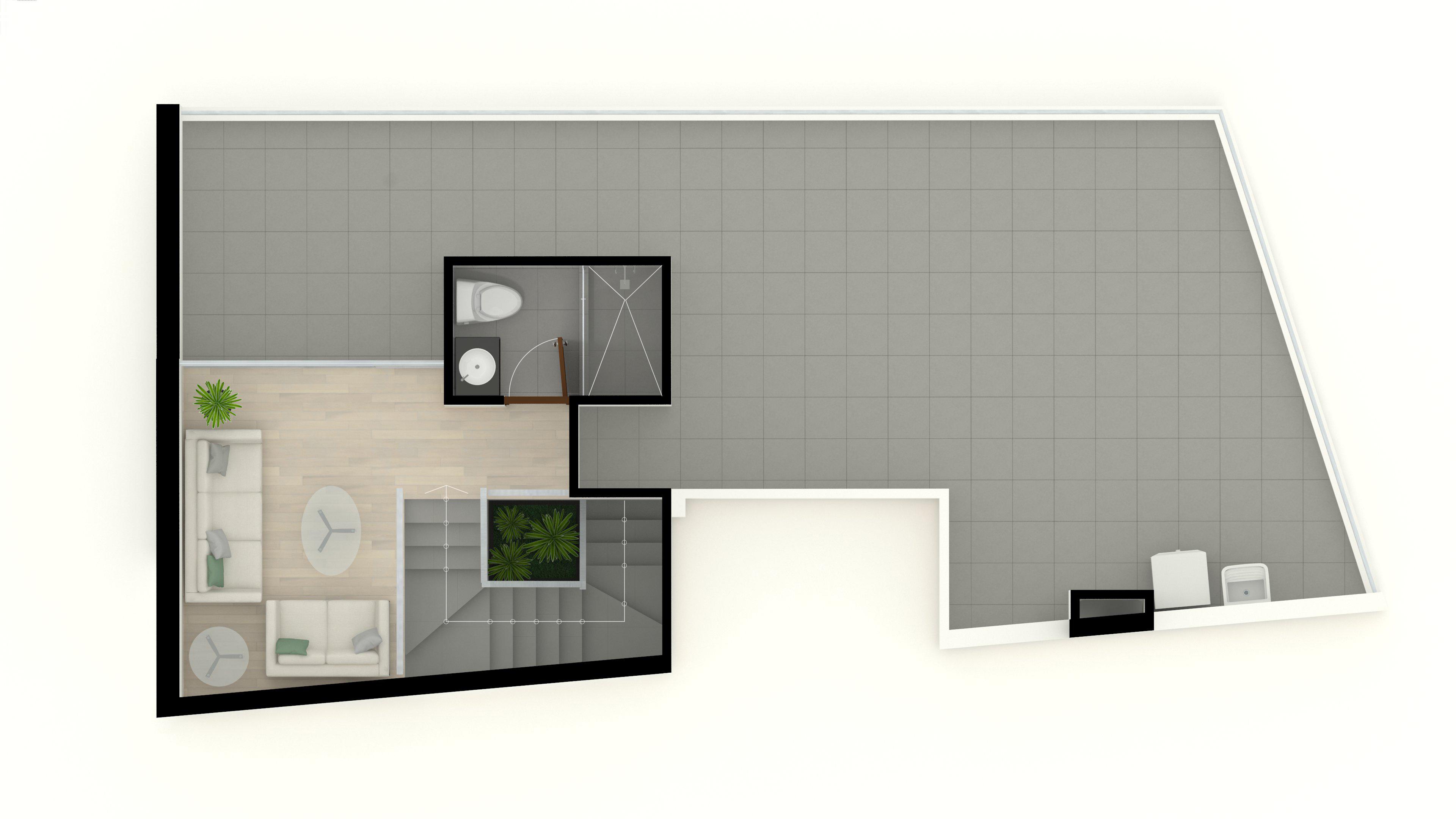 5. Duplex 501 6to piso 17m2 (Segundo Nivel)