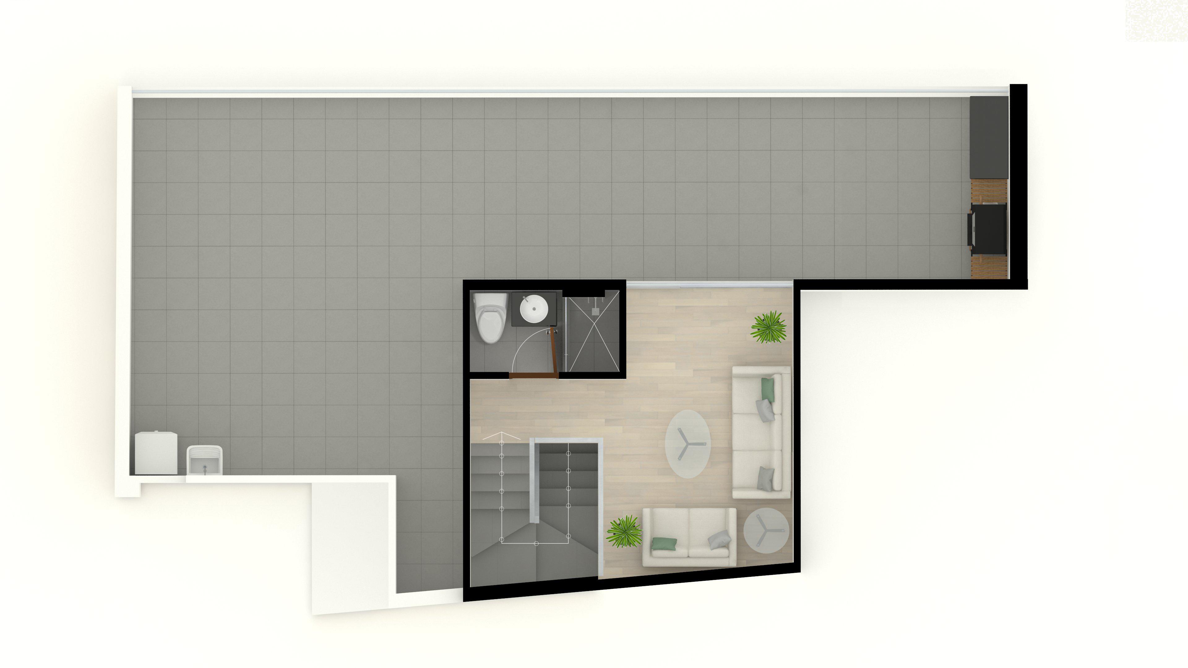 7. Duplex 502 6to piso 18m2 (Segundo Nivel)